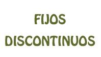 ANTIGÜEDAD DE LOS FIJOS DISCONTINUOS