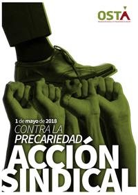 1º de MAYO: CONTRA LA PRECARIEDAD, ACCIÓN SINDICAL