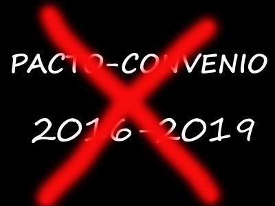 EL PACTO CONVENIO, PAPEL MOJADO