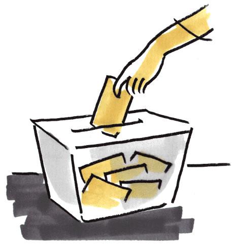 MESAS DE VOTACIÓN – Distribución del personal funcionario. Elecciones sindicales