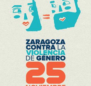 25 de NOVIEMBRE – ZARAGOZA CONTRA LA VIOLENCIA DE GÉNERO