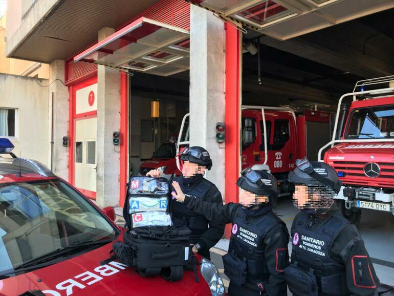 LOS BOMBEROS DE ZARAGOZA COLABORARÁN CON LA POLICÍA NACIONAL EN SITUACIONES GRAVES