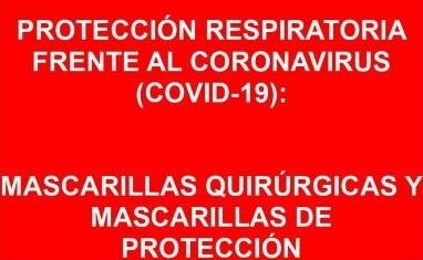 TRÍPTICO PROTECCIÓN RESPIRATORIA FRENTE AL COVID-19