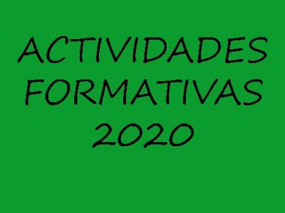 CIRCULAR ACTIVIDADES FORMATIVAS Nº 4